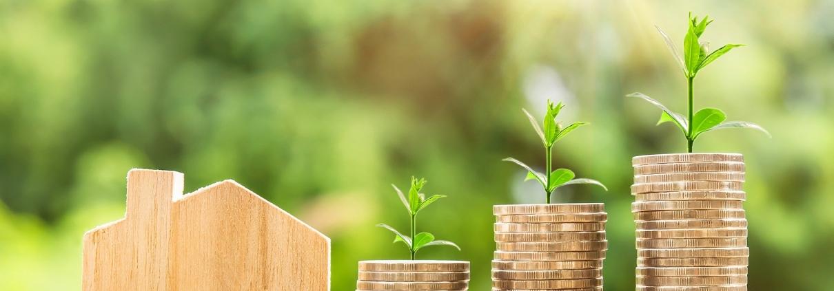 Niedrige Kreditzinsen ebnen den Weg zur eigenen Anlegerwohnung.