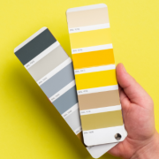 PANTONE 17-5104 Ultimate Gray + PANTONE 13-0647 Illuminating