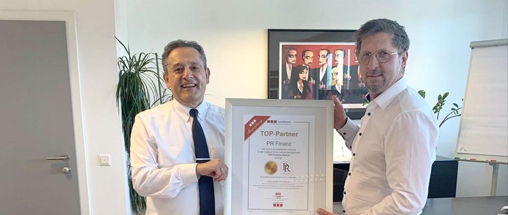 Top Partner ausgezeichnet
