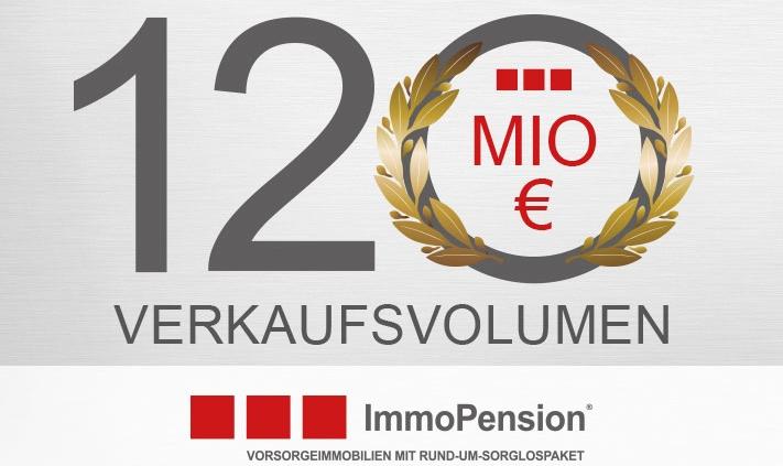 120 Mio Euro Verkaufsvolumen