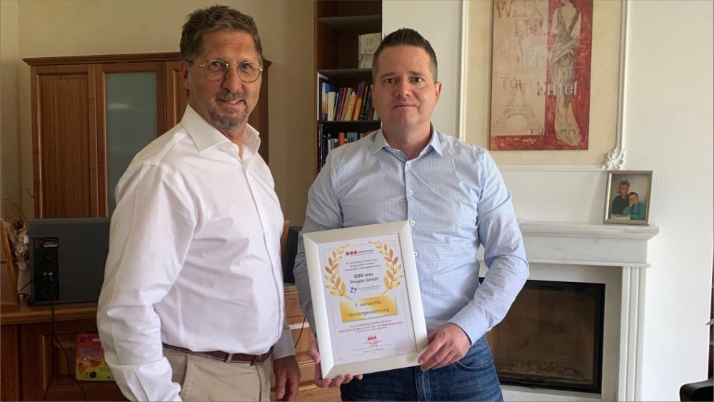 Auszeichnung BBB zeta Projekt GmbH