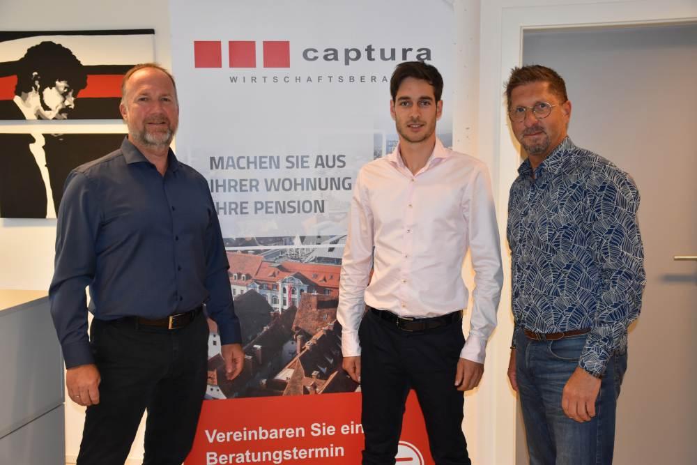 Rene Binder, Georg Tilg und Ernst Lieber
