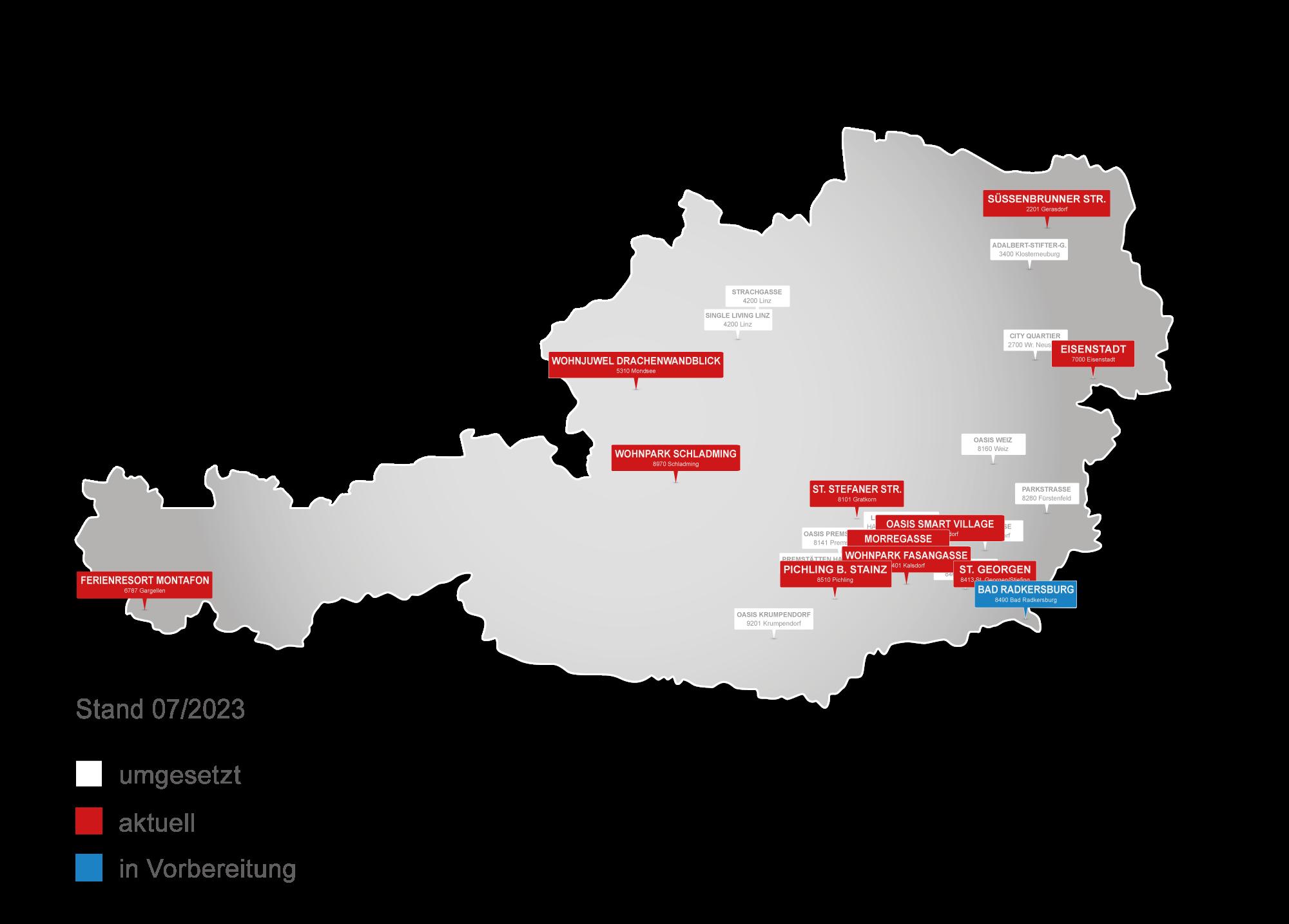Österreich Anlegerwohnungen