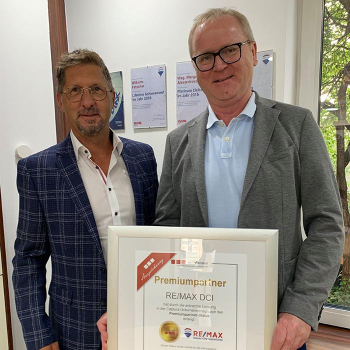 Premium-Partner Remax DCI Mödling_Auszeichnung